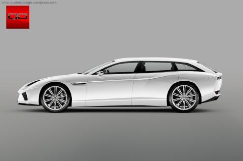 Lamborghini Estoque SW -  Clique na Imagem para Ampliar