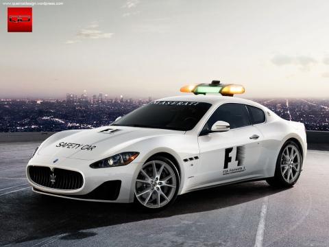 Maserati GranTurismo S Safety Car - Clique na Imagem para Ampliar